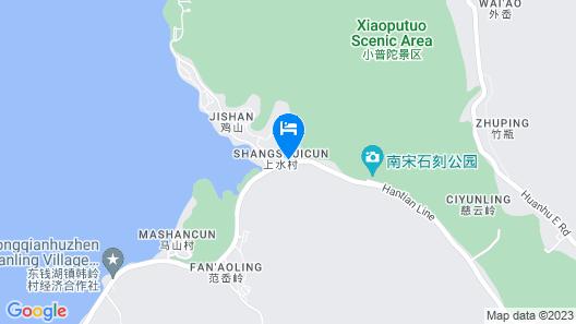 Cordis Dongqian Lake Ningbo Map