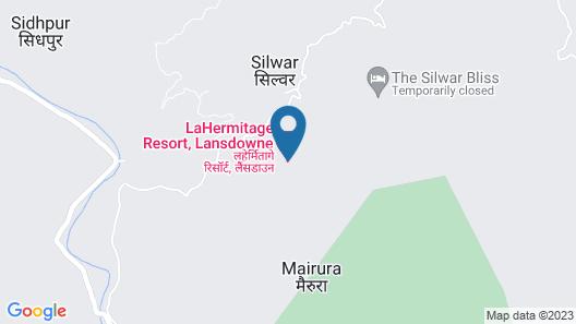 LaHermitage Resort Map