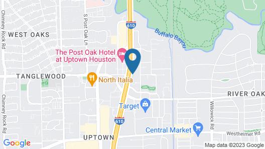 La Quinta Inn & Suites by Wyndham Houston Galleria Area Map