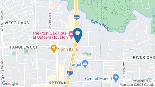 Drury Inn & Suites Houston Near the Galleria Map