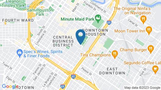 Hilton Americas - Houston Map