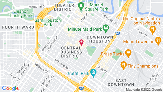 Four Seasons Hotel Houston Map