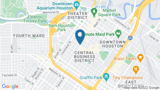 Residence Inn by Marriott Houston Downtown/Convention Center Map
