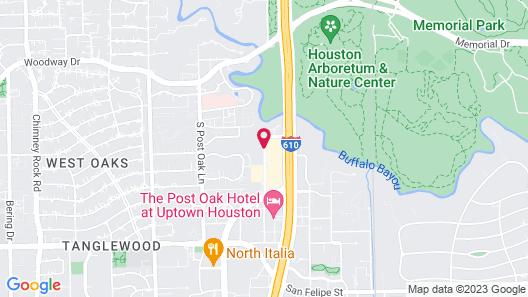 Hotel Granduca Houston Map