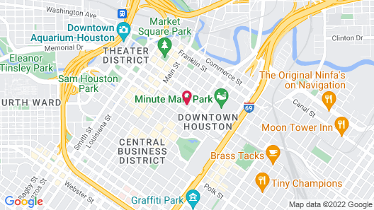 Cambria Hotel Houston Downtown Convention Center Map