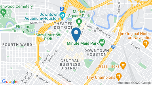 AC Hotel by Marriott Houston Downtown Map
