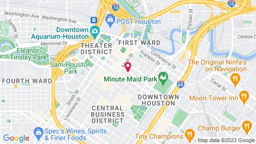 Magnolia Hotel Houston, A Tribute Portfolio Hotel Map