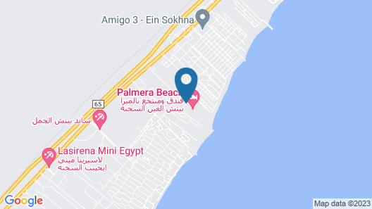 Palmera Azur Resort Map