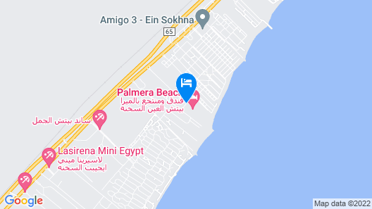 Palmera Azur Resort Map