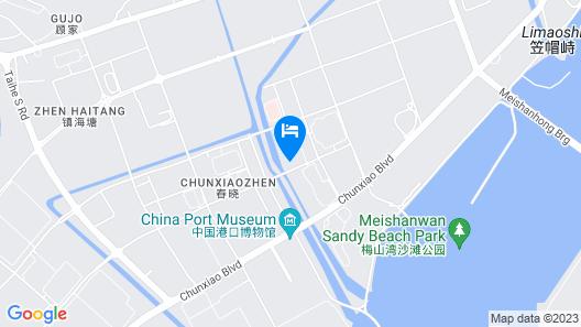 Doubletree By Hilton Ningo - Chunxiao Map