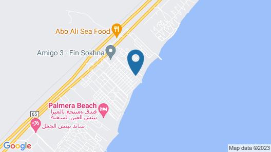 Amigo Elsokhna Hotel Map