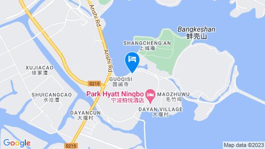 Park Hyatt Ningbo Resort and Spa Map