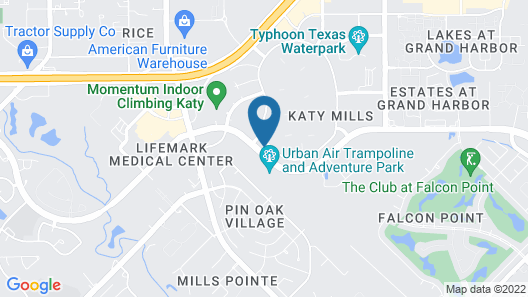Aloft Houston Katy Map