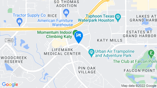 Homewood Suites by Hilton Houston / Katy Mills Mall Map