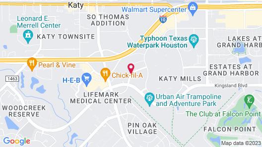 Holiday Inn Hotel & Suites Houston West - Katy Mills, an IHG Hotel Map
