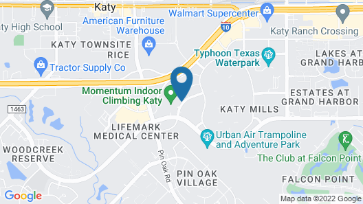 Holiday Inn Hotel & Suites Houston West - Katy Mills, an IHG Hotel Map