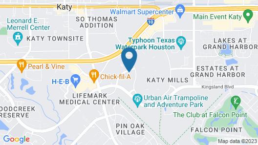 Residence Inn by Marriott Houston Katy Mills Map