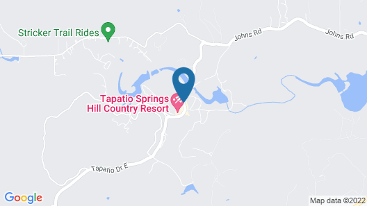 Tapatio Springs Hill Country Resort Map