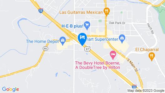 Hampton Inn & Suites Boerne Map
