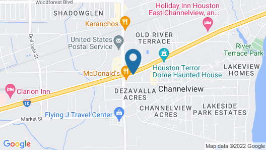Fairfield Inn & Suites by Marriott Channelview Map