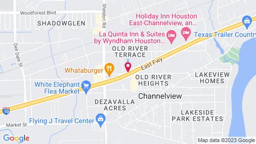 Hotel O Houston East Channelview I-10 Map