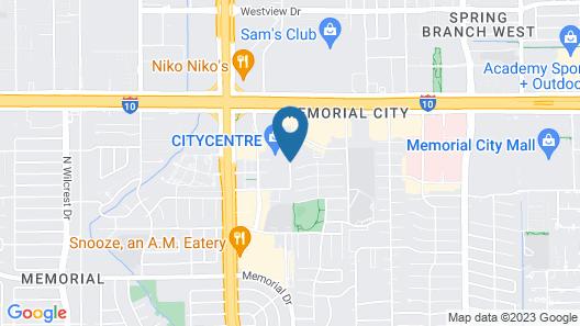 Luxury Living at City Center Houston Map