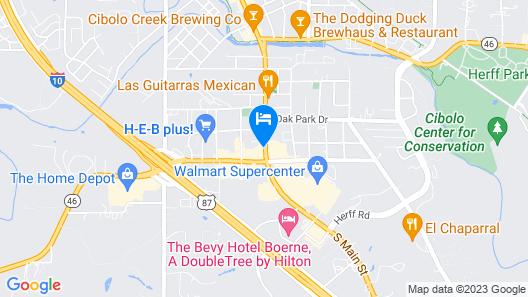 Motel 6 Boerne, TX Map