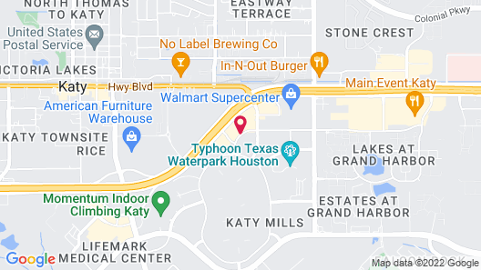 Country Inn & Suites by Radisson, Katy (Houston West), TX Map