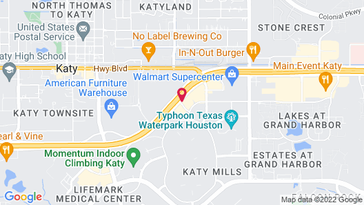 SpringHill Suites Houston Katy Mills Map
