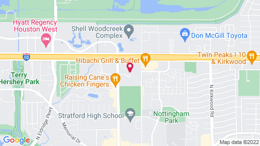 Hilton Garden Inn Houston Energy Corridor Map
