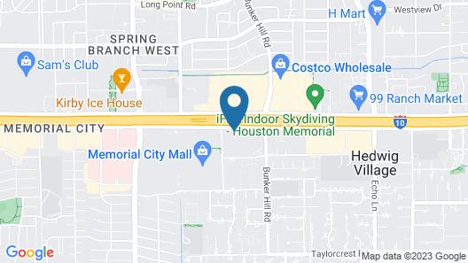 Hotel ZaZa Houston Memorial City Map