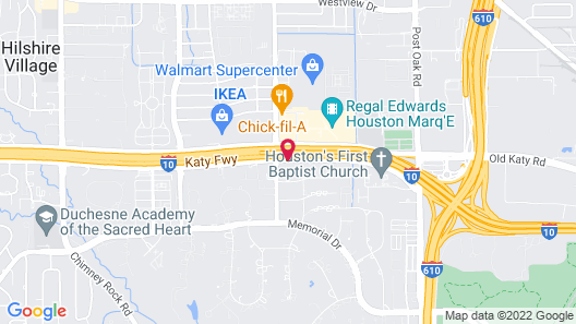 Holiday Inn Express & Suites Houston - Memorial Park Area, an IHG Hotel Map