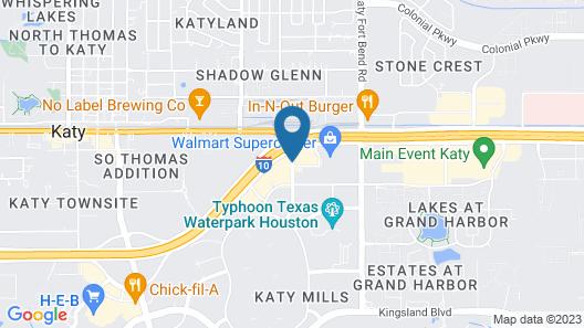 Best Western Plus Katy Inn & Suites Map