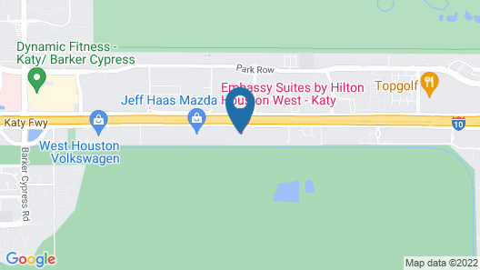 Embassy Suites by Hilton Houston West - Katy Map