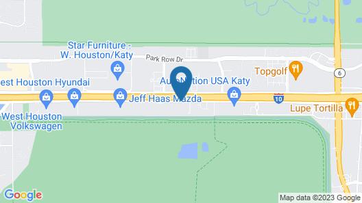 Houston Marriott Energy Corridor Map