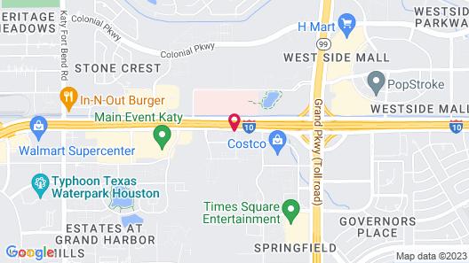 Tru by Hilton Katy Houston West Map