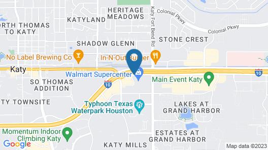 Comfort Suites at Katy Mills Map