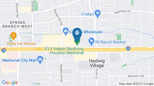 Homewood Suites by Hilton Houston Memorial Map