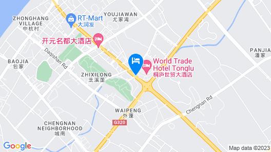 Heng 8 Hotel Tonglu South Yingchun Road Map