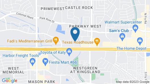 Days Inn & Suites by Wyndham Katy Map