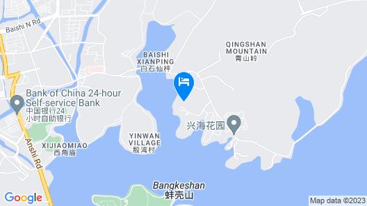 Hilton Ningbo Dongqian Lake Map