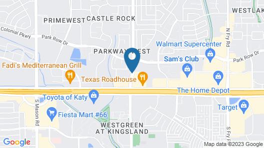 Hyatt Place Houston/Katy Map