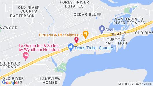 Mustang Inn Map