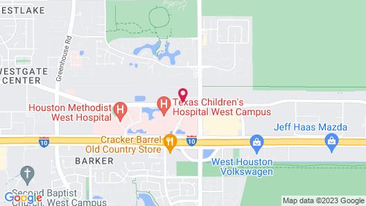 Hampton Inn & Suites Houston I-10 West Park Row, TX Map