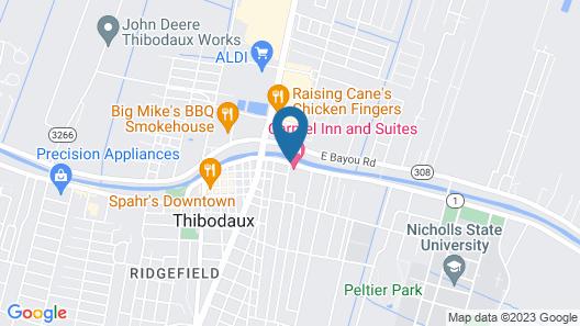 Carmel Inn & Suites Map
