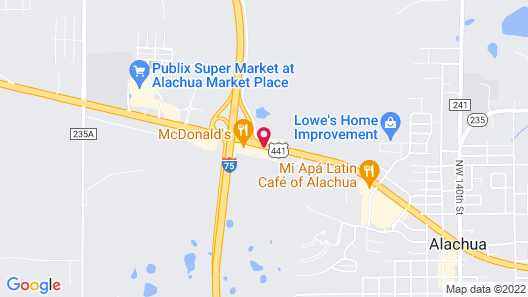 Quality Inn I-75 at Exit 399 Map