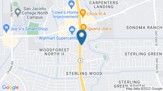 La Quinta Inn & Suites by Wyndham Houston Channelview Map