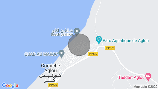 LUXURY VILLA BY THE SEA SOUTH OF AGADIR - THE HOTEL AT HOME Map