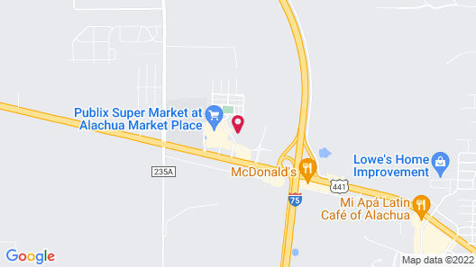 Holiday Inn Express & Suites Alachua - Gainesville Area, an IHG Hotel Map