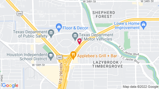 Springhill Suites By Marriott Houston Brookhollow Map